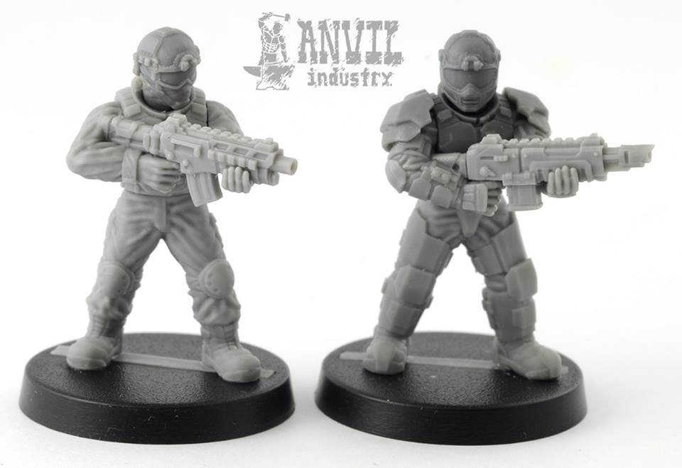 anvil industry shows off new regiment models from salute