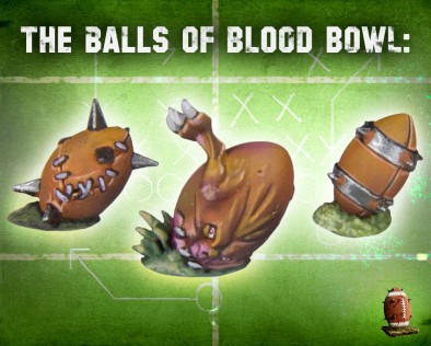 Blood Bowl Balls