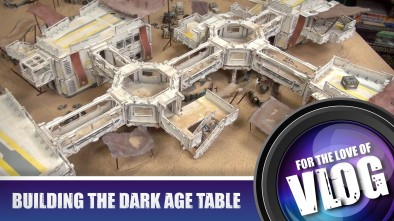 VLOG: Building The Dark Age Table