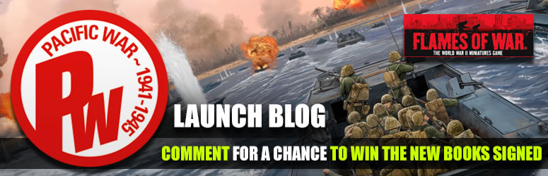 Flames Of War In The Pacific: Battlefront Launch Blog