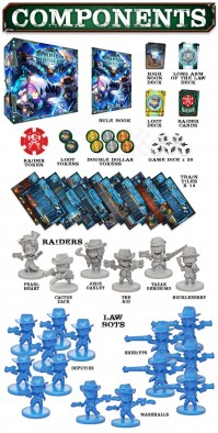 Rail Raiders (Components)