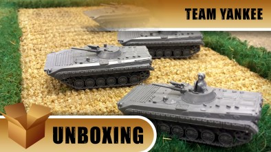 Unboxing: Team Yankee - BMP1&2 Company