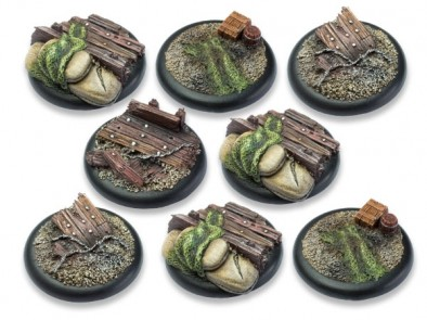 Trench Warfare Bases 40mm