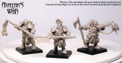Warriors of the Apocalypse With Great Weapons