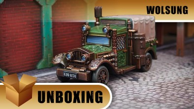 Unboxing: Wolsung - RSM Courier Steammobile