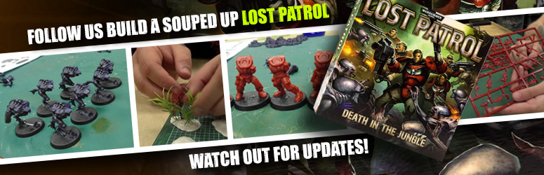 Lost Patrol – Building The Models
