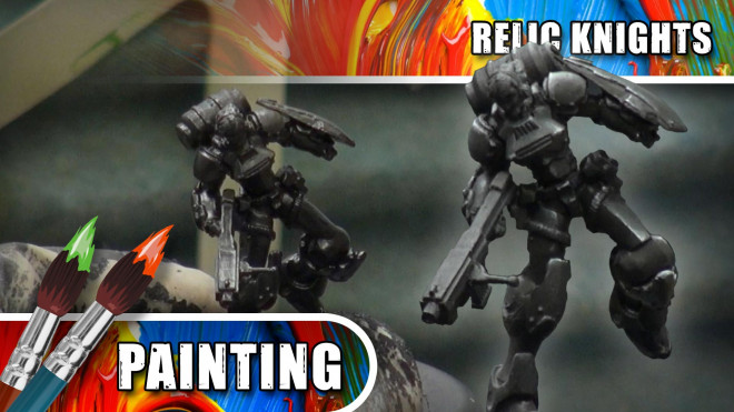3 Colours Up – Painting Black Armour