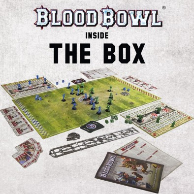Blood Bowl Box Contents