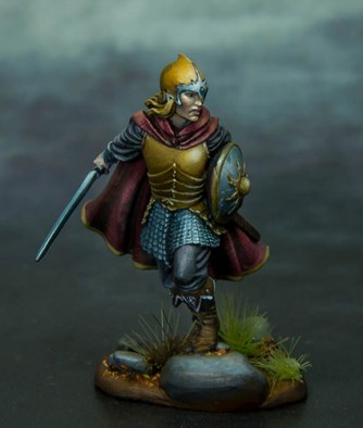 Elf Warrior With Sword