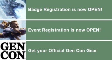 Gen con tickets