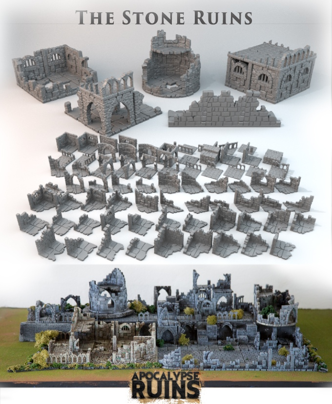 photo relating to Printable Scenery titled Printable Landscapes Will Release Their Apocalypse Ruins