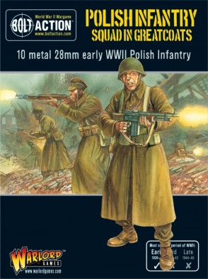 Polish Infantry In Greatcoats (Box)