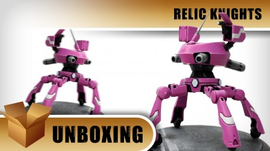 Unboxing: Relic Knights - Pacer