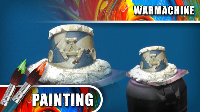 3 Colours Up – Painting A Viking Shield