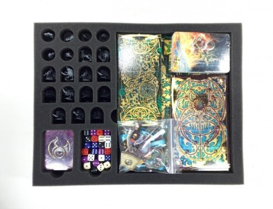 Warhammer Quest Silver Tower Foam Kit for the P.A.C.K. 216 (Components)