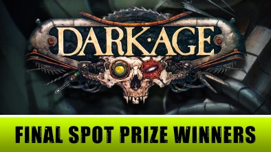 Dark Age Week - Final Spot Prize Winners Announced