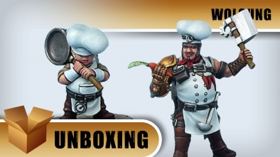 Unboxing: Wolsung - Cook & Kitchen Boy