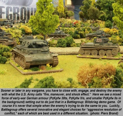 "Battlegroup"" WW2 Tactical Wargame Part Two – Fire & Movement"