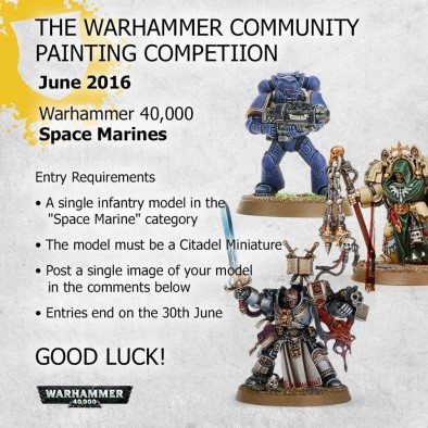 40k Painting Competition