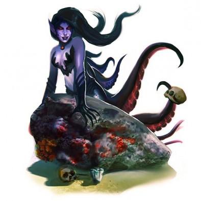 AMG siren maneater art