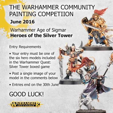 Age of Sigmar Painting Competition