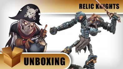 Unboxing: Relic Knights - Calico Kate & Skully