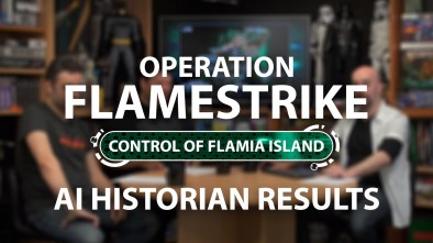 Infinity Operation Flamestrike: AI Historian Results