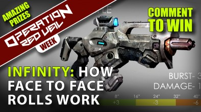 Infinity How to Play 2 Face to Face Rolls