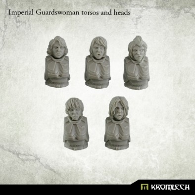 Imperial Guardswomen Torso and Heads