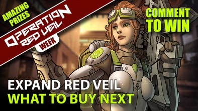 Infinity Red Veil Week - What to Buy Next