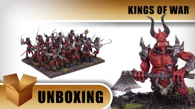 Unboxing: Kings of War - Forces of the Abyss
