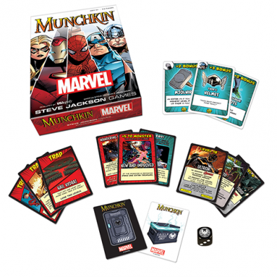 MM USAopoly-MunchkinMarvel-Contents