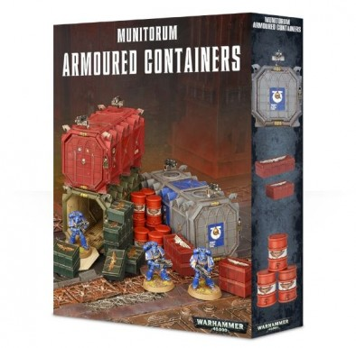 Munitorum Armoured Containers Box