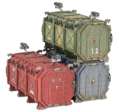 Munitorum Armoured Containers Only