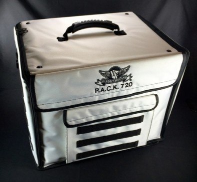 P.A.C.K. 720 Molle Standard Load Out (Imperial White) - Front
