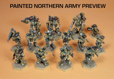 Painted Northern Army