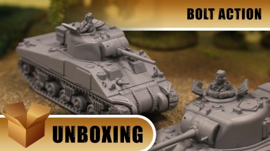 Unboxing: Bolt Action - Sherman Tank Troop