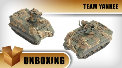 Team Yankee - M163 VADS or M901 ITV Unboxing