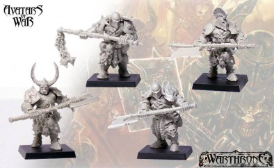 Warriors with Great Weapons (Unpainted)
