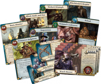 Witch Hunter Cards