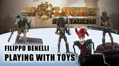 Wolsung Stratagems: Playing With Toys