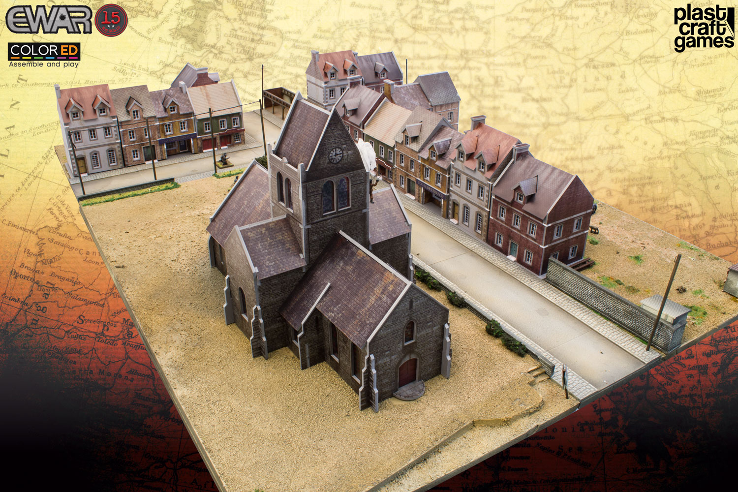 PlastCraft Go 15mm With Their New World War II Color-ED