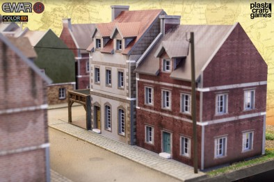 15mm Historical Terrain (Houses - Close)