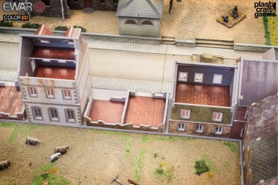 15mm Historical Terrain (Houses Ruined)