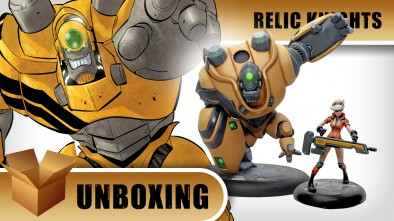 Relic Knights: Betty & Lug - Unboxing