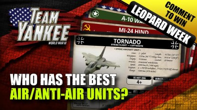 Team Yankee Leopard Week - Top Trumps! Who Has The Best Air/Anti-Air Units In The Game?