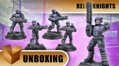 Relic Knights Unboxing: Diamond Corps