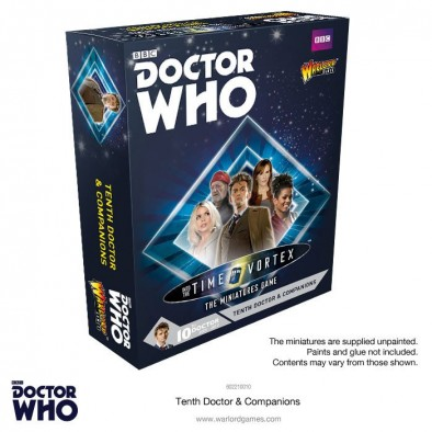 Doctor Who The Miniatures Game - 10th Doctor Set