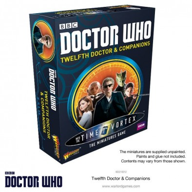 Doctor Who The Miniatures Game - 12th Doctor Set