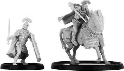 EQUITUS DURIO, CENTURION ON FOOT AND ON HORSE